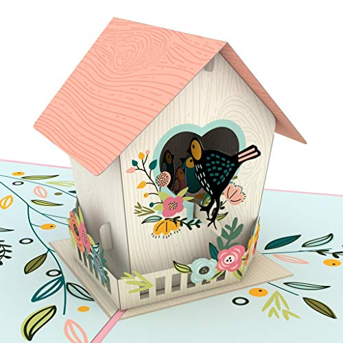 (Lovepop Mother's Day Birdhouse Pop-Up 3-D Greeting Card)