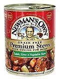 Newmans Own Organic Dog Food Lamb Liver and Veg Stew - 12 lb