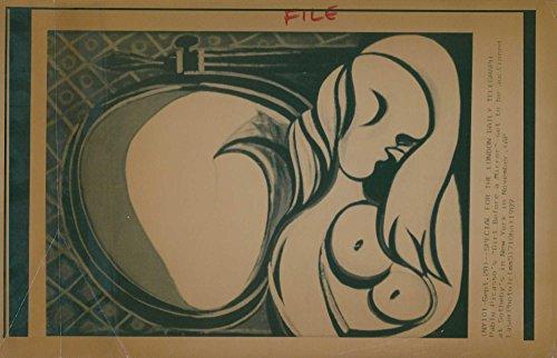 (Vintage photo of Pablo Picasso