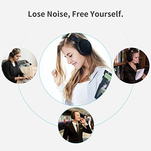 7b67734ead1 COWIN E8 Active Noise Cancelling Headphone Bluetooth Headphones with Microphone  Hi-Fi Deep Bass Wireless