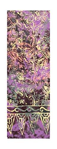 Purple with Paisley Design ()