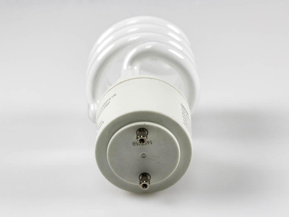 TCP 23W Cool White Spiral CFL Bulb GU24 Base