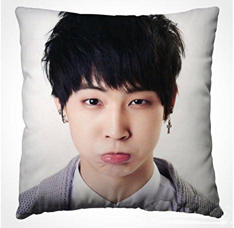 Z T GOT7 Throw Pillow Mark JB. Jackson Jr. Pillow Back Cushion JB. 1
