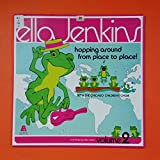 ELLA JENKINS Hopping Around From Place To Place AR 614 LP Vinyl VG Cover VG+