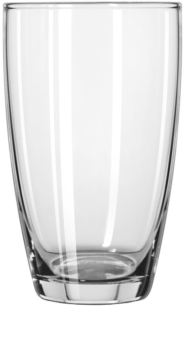 Circleware 44539 Smooth Huge Set of 12, 6-16oz Drinking Glasses & 6-13oz Whiskey Glass, Kitchen Glassware for Water, Beer, Wine Liquor Beverage, 16oz&13oz, Smooth 12pc by Circleware (Image #4)