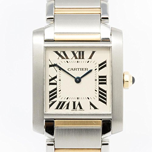 Cartier Tank Francaise swiss-quartz womens Watch W2TA0003 (Certified Pre-owned)