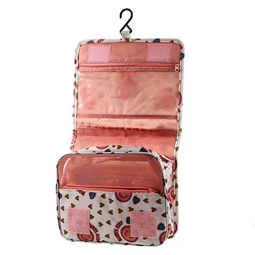 Organizer borsa da viaggio lemonda trousse impermeabile con gancio da viaggio sacchetto - Organizer bagno ...