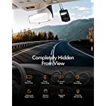 APEMAN Dual Dash Cam C550, 1080P Front and Rear Hidden Car Driving Recorder, IPS Screen, Night Vision, 170° Wide Angle…