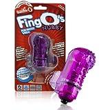 Waterproof Wireless Vibrating Screaming O FingO's - Nubby Purple