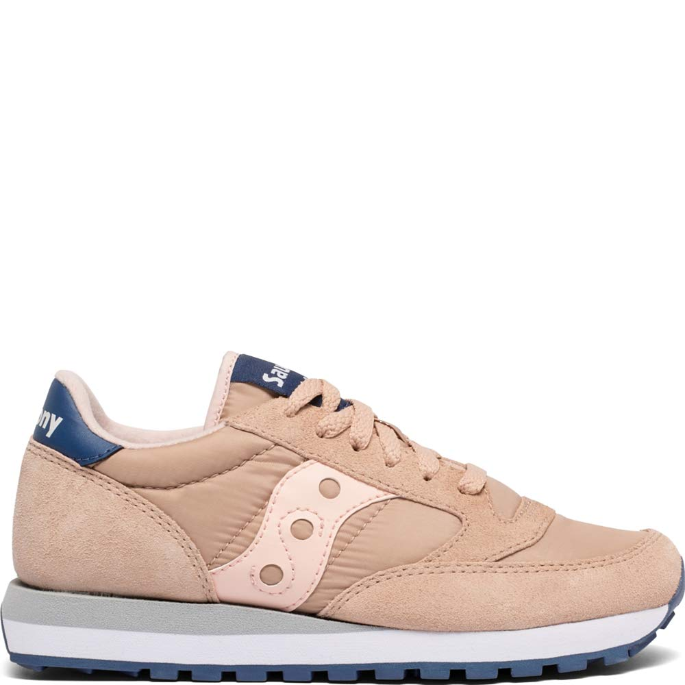 new style 09a3e 182b2 Saucony Originals Women's Jazz Original Sneaker, Tan/Blush/Blue