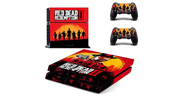 CIVIQ Red Dead Redemption 2 PS4 Skin Sticker for Sony Playstation ...