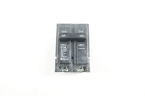 EATON 125A BR2125 NEW NO BOX 2P CIRCUIT BREAKER 240V