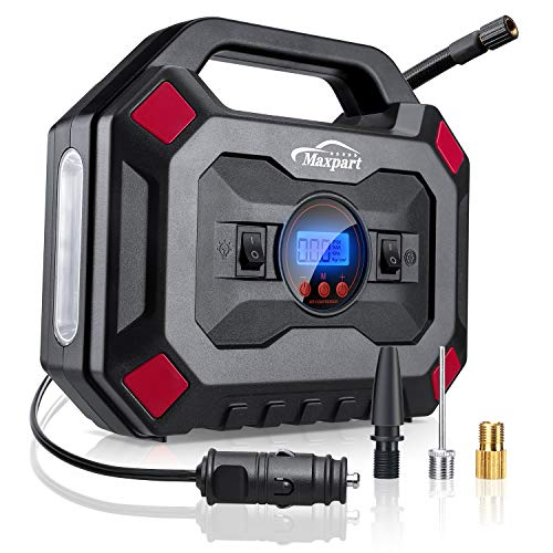 TWING Tire Inflator 12V 150PSI Digital Air Compressor Pump Auto