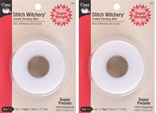 Dritz 223 5/8-Inch by 13-Yard Stitch Witchery, Super