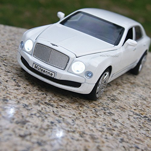 Bentley Mulsanne Alloy Diecast 1:32 Car Model Sound Light Collection Vehicles (Bentley Model Car compare prices)