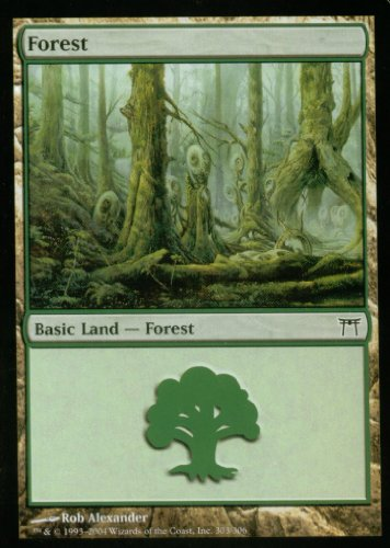 Magic the Gathering: Forest (A) (Foil) - Champions of Kamigawa ()