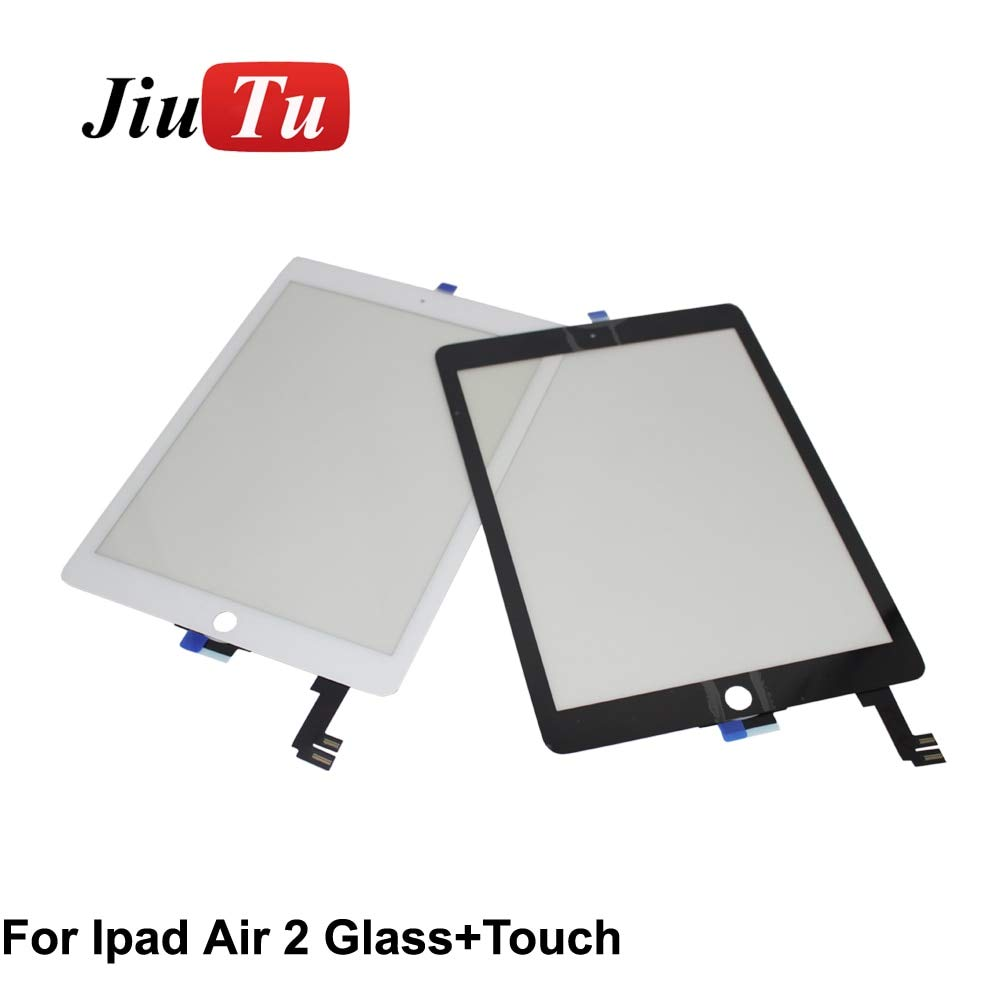 FINCOS for iPad Air 2 Digitizer for iPad 6 A1567 A1566 Replacement Touch Screen Digitizer Glass White Black - (Color: 2pcs for Pro 12.9) by FINCOS (Image #5)