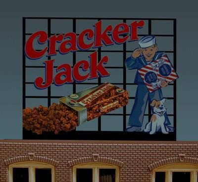 88-0101 Large Model Cracker Jack Animated Lighted Billboardby for sale  Delivered anywhere in USA