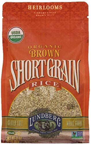 Lundberg Organic Short Grain Brown Rice, 32-Ounce ()