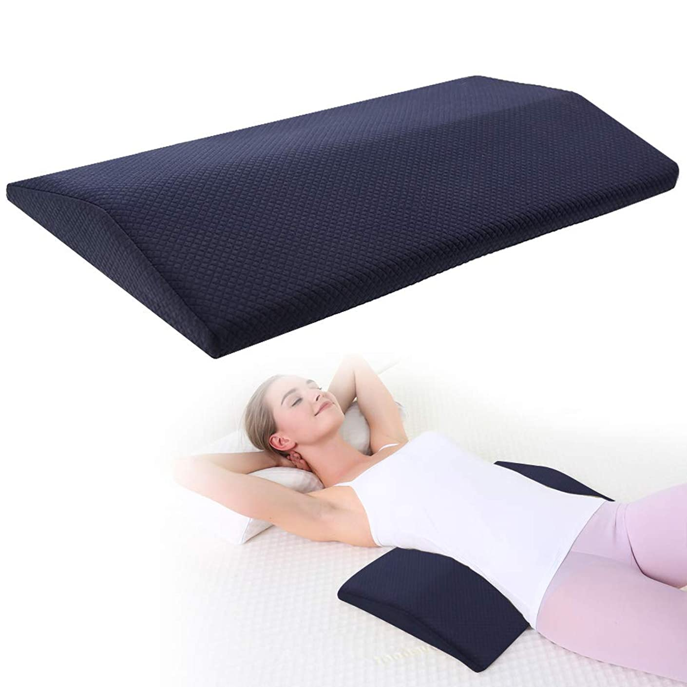 で出来ている促す利点アストロ 洗える足枕 男女兼用フットレスト
