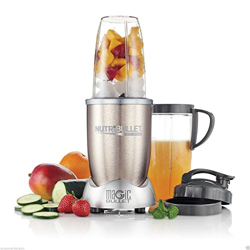 Magic bullet nutribullet pro 900 blender mixer 15 piece for Magic bullet motor size