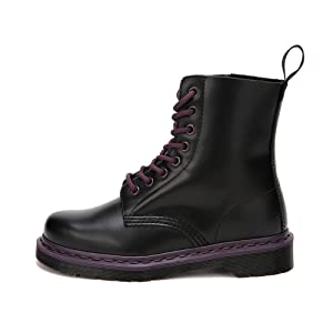 Women's Fashion Leather Boots Lace Casual Ankle Boots