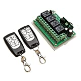TOOGOO 12V 4CH Channel 433Mhz Wireless Remote