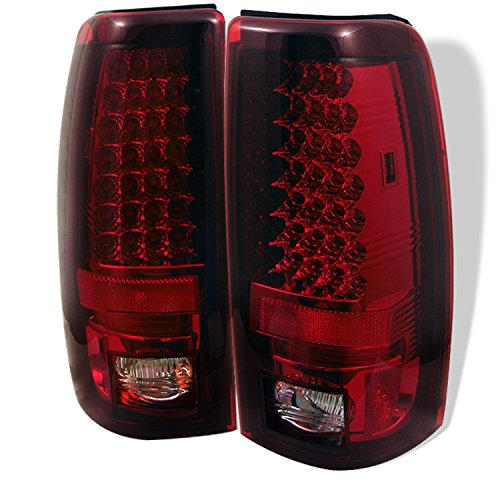 06 silverado tail lights clear - 4