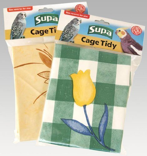 Supa Cage Tidies Bird Cage Floor Cover Standard