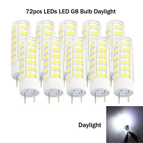 From USA ★ Ashialight G8 LED Light Bulbs 120 Volt G8 50W ...