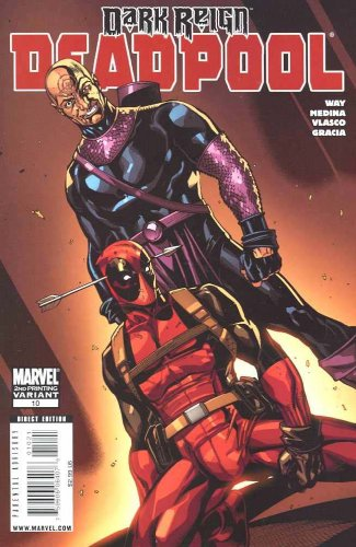 Deadpool #10 Second Print Variant Cover