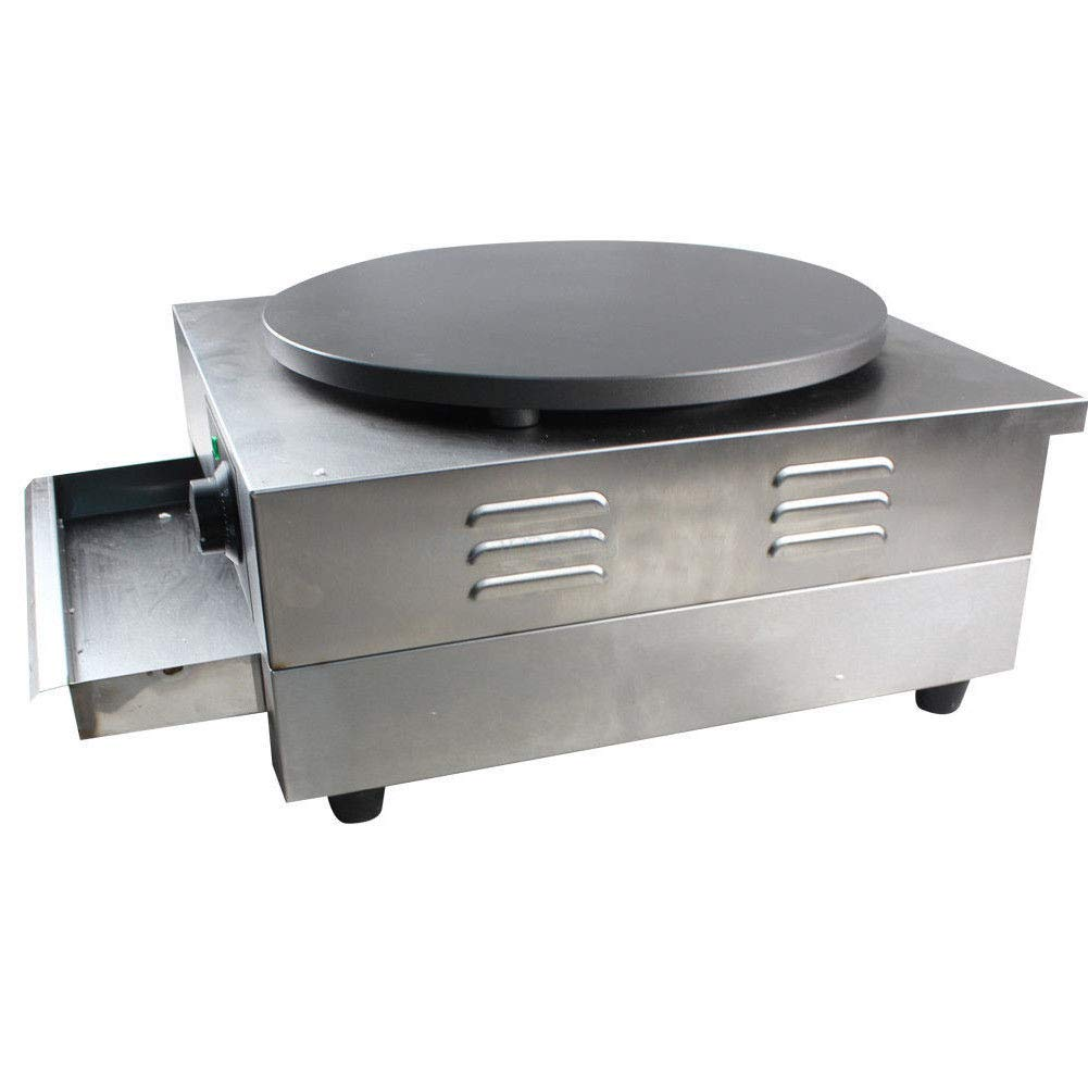 Electric Crepe Maker, 3KW Electric Pancakes Maker Griddle, 16'' Electric Nonstick Crepe Pan with Batter Spreader, Precise Temperature Control for Blintzes, Eggs, Pancakes and More by NOPTEG (Image #7)