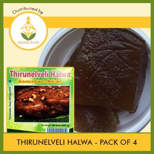 Thirunelveli Halwa (Pack of 4) Each Pkt 250g (B-P) by Shastha Foods