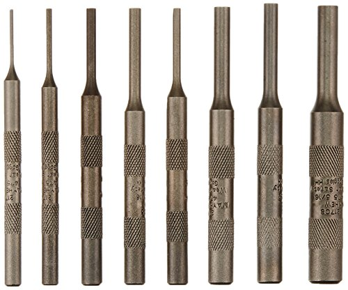 8 Piece Knurled Pin Punch - 6