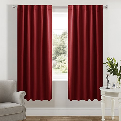 NICETOWN Room Darkening Curtain Panels for Living Room -  42