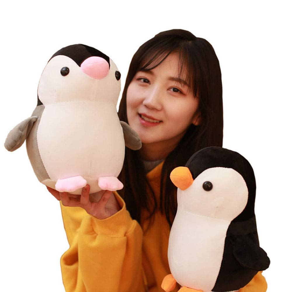 VIDANQE Cute Penguin Plush Toy Sea Animal Doll Machine Doll Stuffed Soft Animal Cartoon Pillow Lovely for Kids Kawaii Teen Must Haves Gift Ideas My Favourite Superhero Cupcake Toppers by VIDANQE