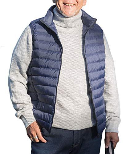 Metro Low Pour Gilet Taille Winter Light Warm Gilets Bleu Hommes couleur Zjexjj PWq7BfHFa