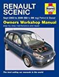 Renault Scenic Petrol & Diesel (Sept 03 - 06) Haynes Repair Manual (Haynes Service and Repair Manuals) by Anon (2015-02-20)