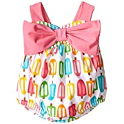 Mud Pie Baby Popsicle Swimsuit, Multi, 9-12 Months