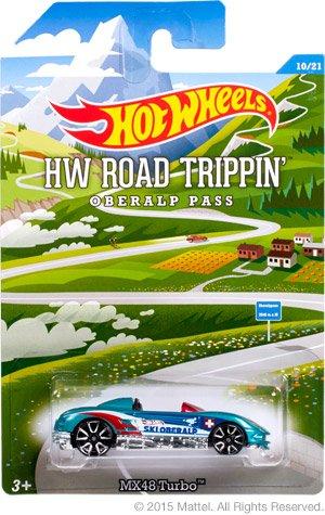 Mattel Hot Wheels HW Road Trippin Oberlap Pass #10/21 MX48 Turbo
