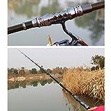 GUAITAI Professional Black Telescopic Fishing Rods Carbon Fiber Spinning Rods 1.8-3.3m