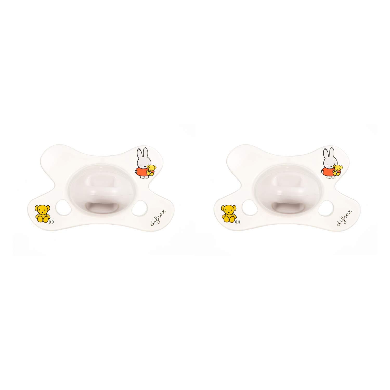 Difrax Chupete 0-6 Meses - Natural (Miffy) - 2 Unidades ...