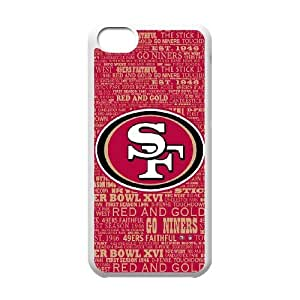 Best Phone case At MengHaiXin Store Team Sports San Francisco 49ers Pattern 242 For Iphone 5c