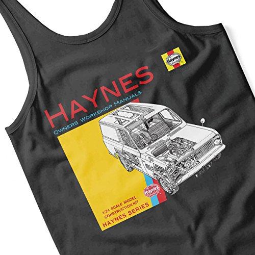 Haynes Owners Workshop Manual 0607 Bedford HA Van Men's Vest Black