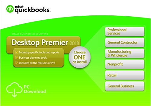 QuickBooks Desktop Premier 2018 1-User