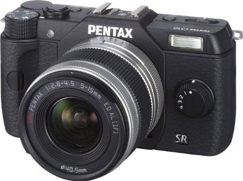 ペンタックス Q10 ブラック ズームレンズキット PENTAX02 STANDARD ZOOM 515mm F2.84.5