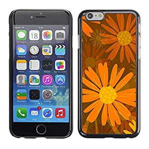 La Rueda de Orange - Metal de aluminio y de plástico duro Caja del teléfono - Negro - Apple (4.7 inches!!!) iPhone 6 / 6S