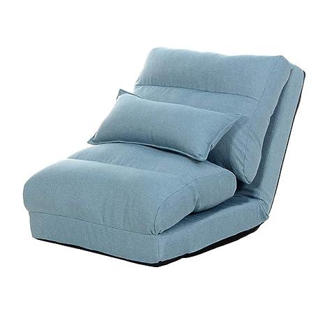 Silla De Piso Lazy Sofa Silla Individual Cama Plegable Sofá ...