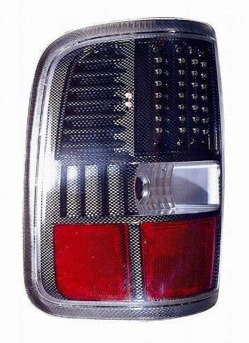 Depo 330-1926PXUS3 Ford F150 Carbon Fiber LED Tail Light