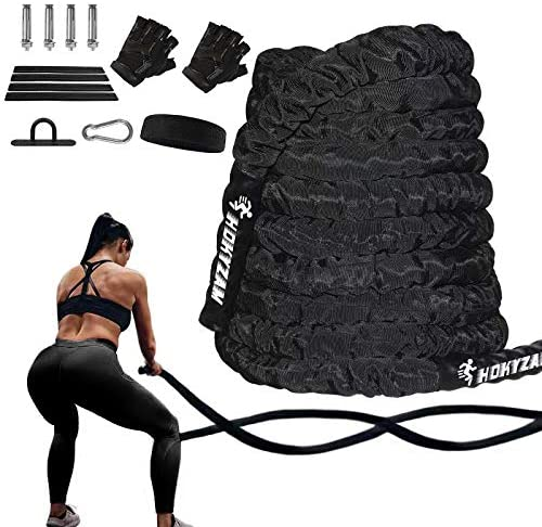 Fitness Heavy Jump Rope Weighted Battling Sport Home Strength Training Equipment